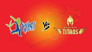 Match Prediction of sylhet sixers vs Khulna titans 15th T20, 15th Nov 2017