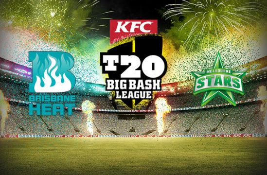 Match prediction of Brisbane Heat vs Melbourne Stars