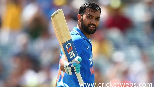 Rohit Sharma Scored Third Double Hundred