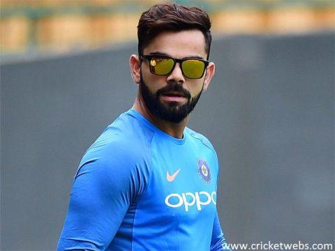 Virat kohli First test as captain